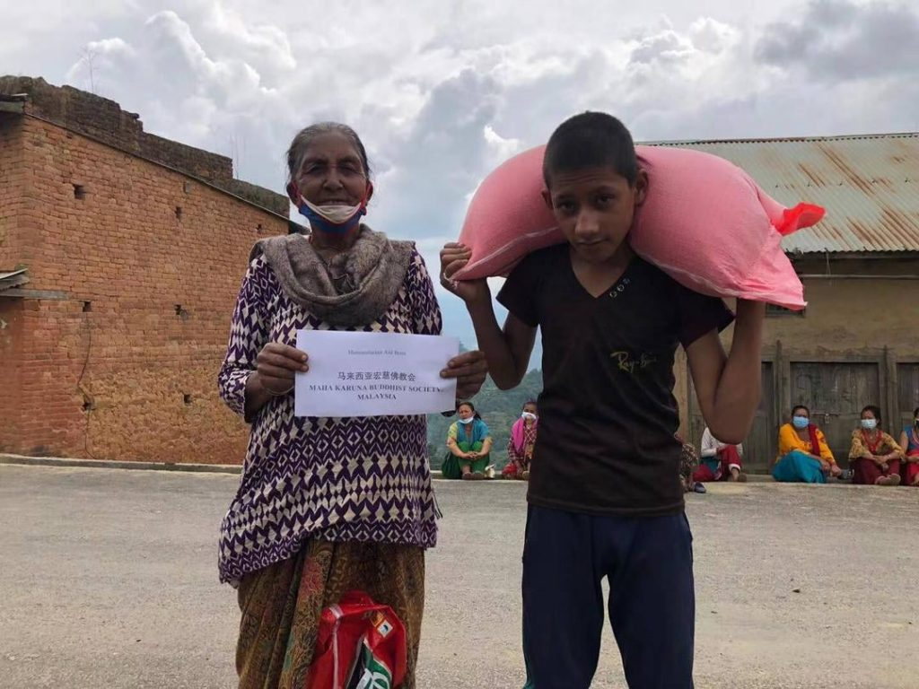 NEPAL | Love no Boundaries – Food Provision for 39 Needy Families 尼泊尔 |爱无国界 粮食送援39户家庭