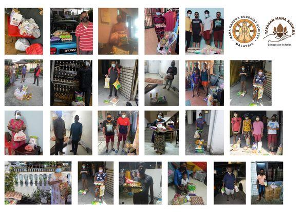 【𝐌𝐚𝐥𝐚𝐲𝐬𝐢𝐚 𝐌𝐚𝐡𝐚 𝐊𝐚𝐫𝐮𝐧𝐚 𝐁𝐮𝐝𝐝𝐡𝐢𝐬𝐭 𝐒𝐨𝐜𝐢𝐞𝐭𝐲 】𝟖 𝐀𝐮𝐠𝐮𝐬𝐭 𝟐𝟎𝟐𝟏| 𝐊𝐮𝐚𝐥𝐚 𝐋𝐮𝐦𝐩𝐮𝐫 & 𝐒𝐞𝐥𝐚𝐧𝐠𝐨𝐫 | 𝐅𝐨𝐨𝐝 𝐏𝐫𝐨𝐯𝐢𝐬𝐢𝐨𝐧𝐬 𝐅𝐨𝐫 𝐓𝐨𝐭𝐚𝐥 𝟒𝟐𝟒 𝐅𝐚𝐦𝐢𝐥𝐢𝐞𝐬 𝐢𝐧 𝐀 𝐖𝐞𝐞𝐤 𝐓𝐢𝐦𝐞 【马来西亚宏慈佛教会】2021年8月8| 吉隆坡 & 雪兰莪| 于一周内粮食物资支援424户家庭
